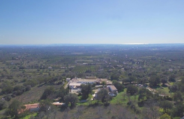 Country plots for luxury villas with views to the coast near Silves