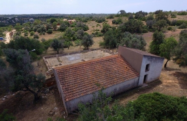 5 ha land with quinta close to Pestana Golf and Ferragudo