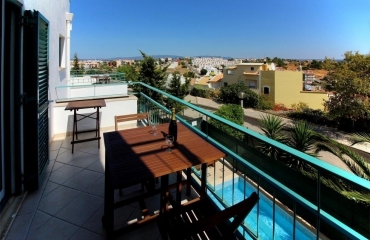 3 bedroom apartment with basement studio, plunge pool and pleasant view